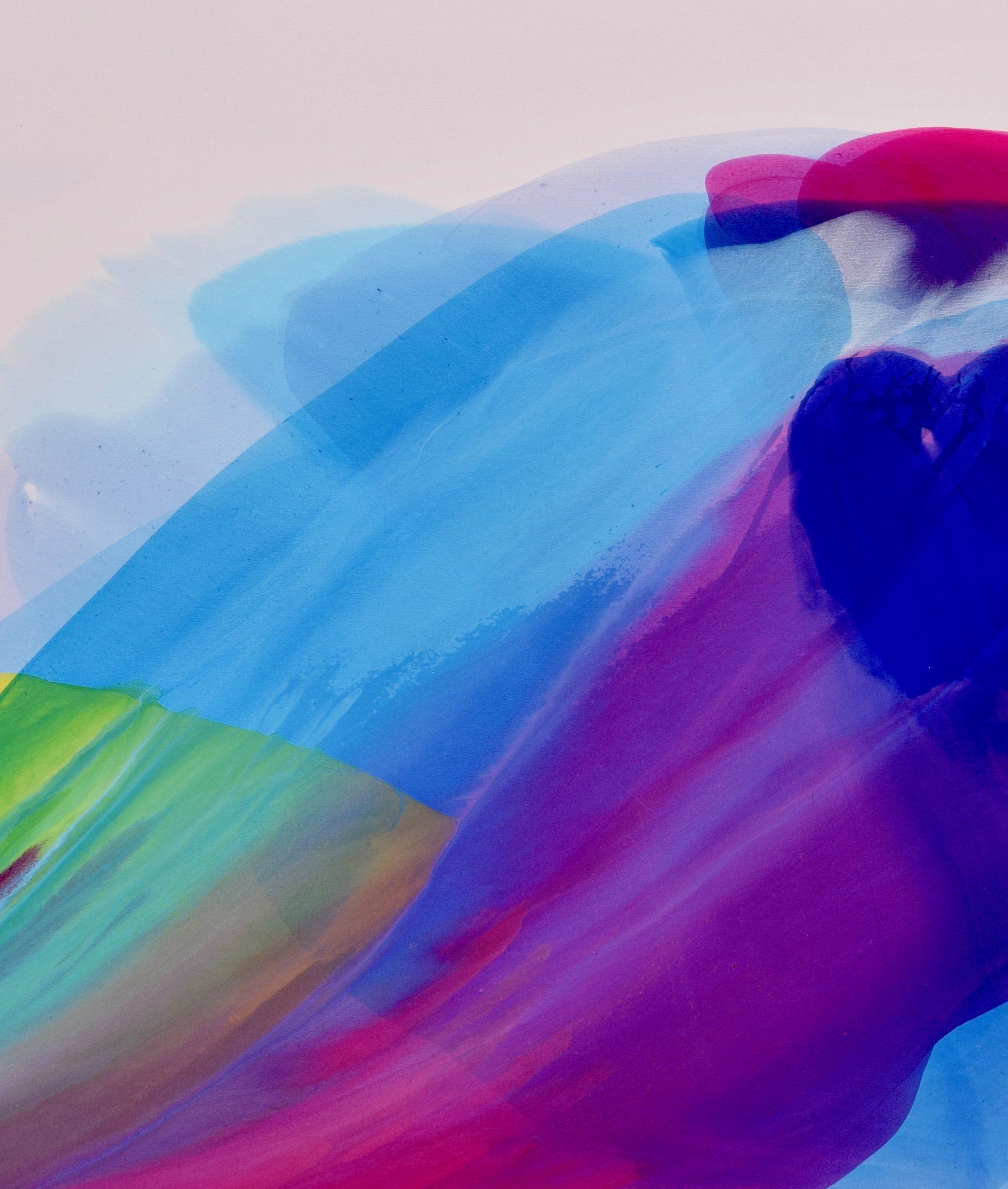 Spiritual Journey I 26×31 acrylic © Linda Stelling