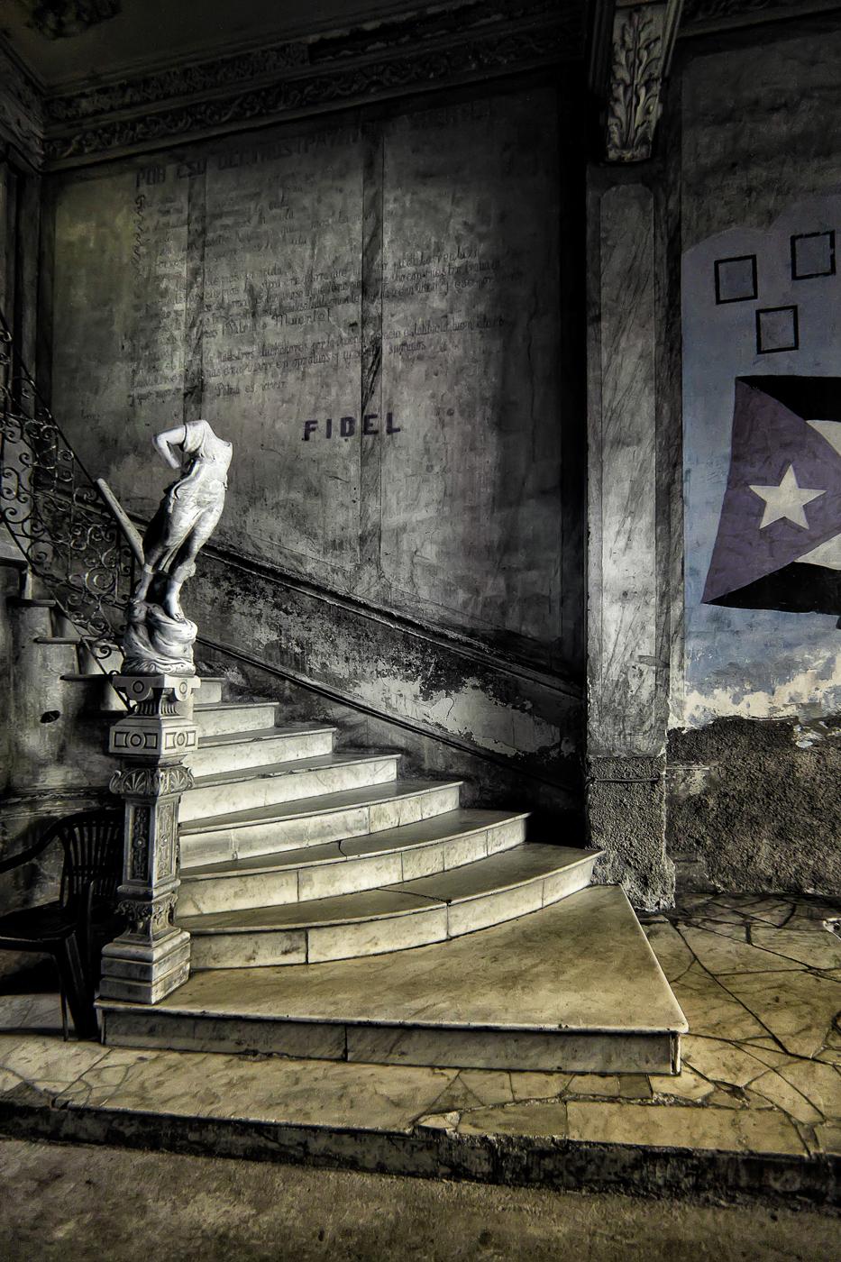 Former Glory Stairwell 2/15 © EK Waller