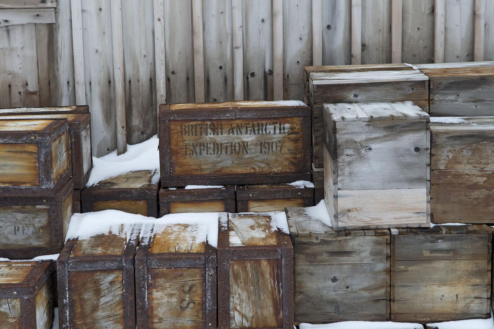 British Antarctic Expedition Box 2014 16×24 © L'Heureux