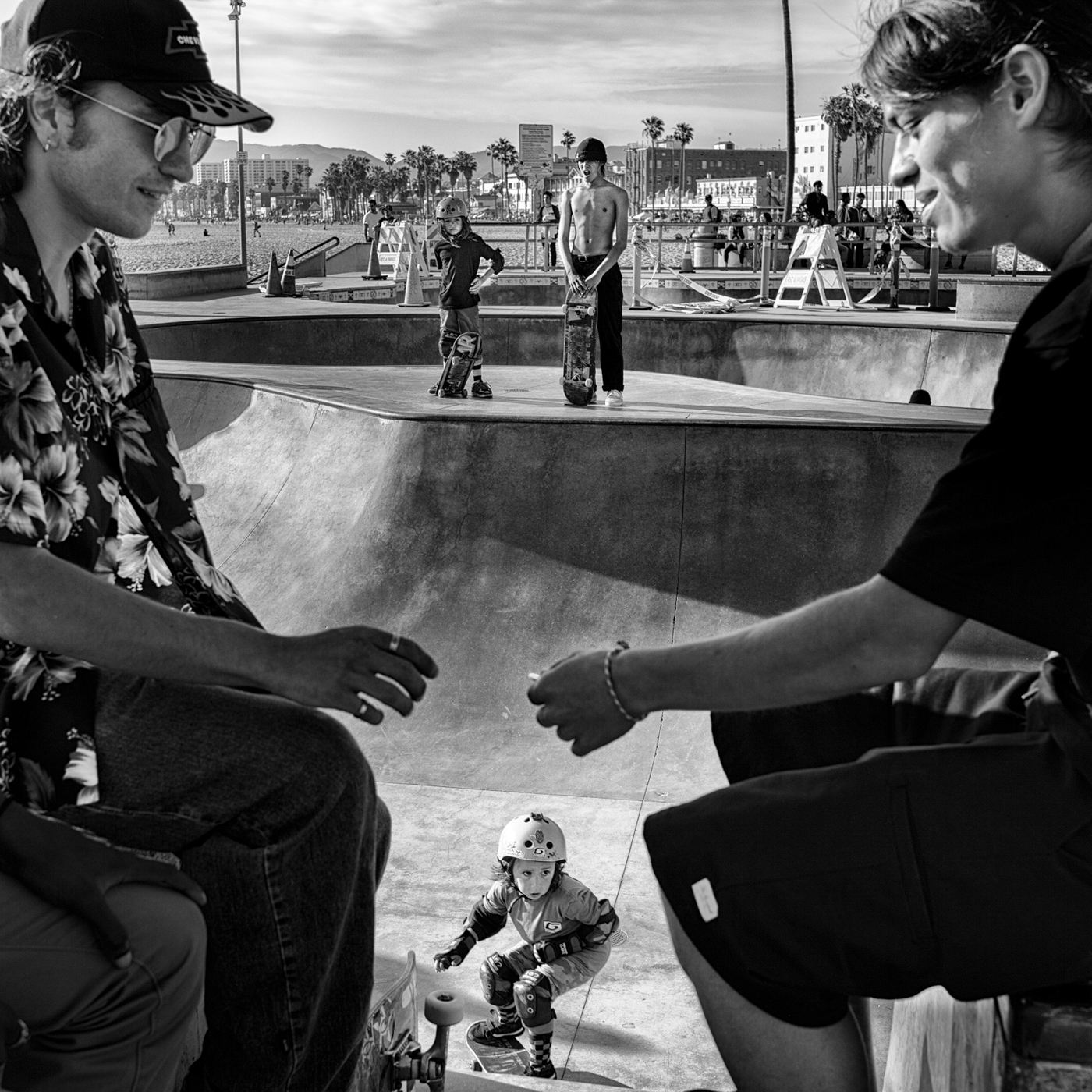 Another Day at the Skate Park © Dotan Saguy