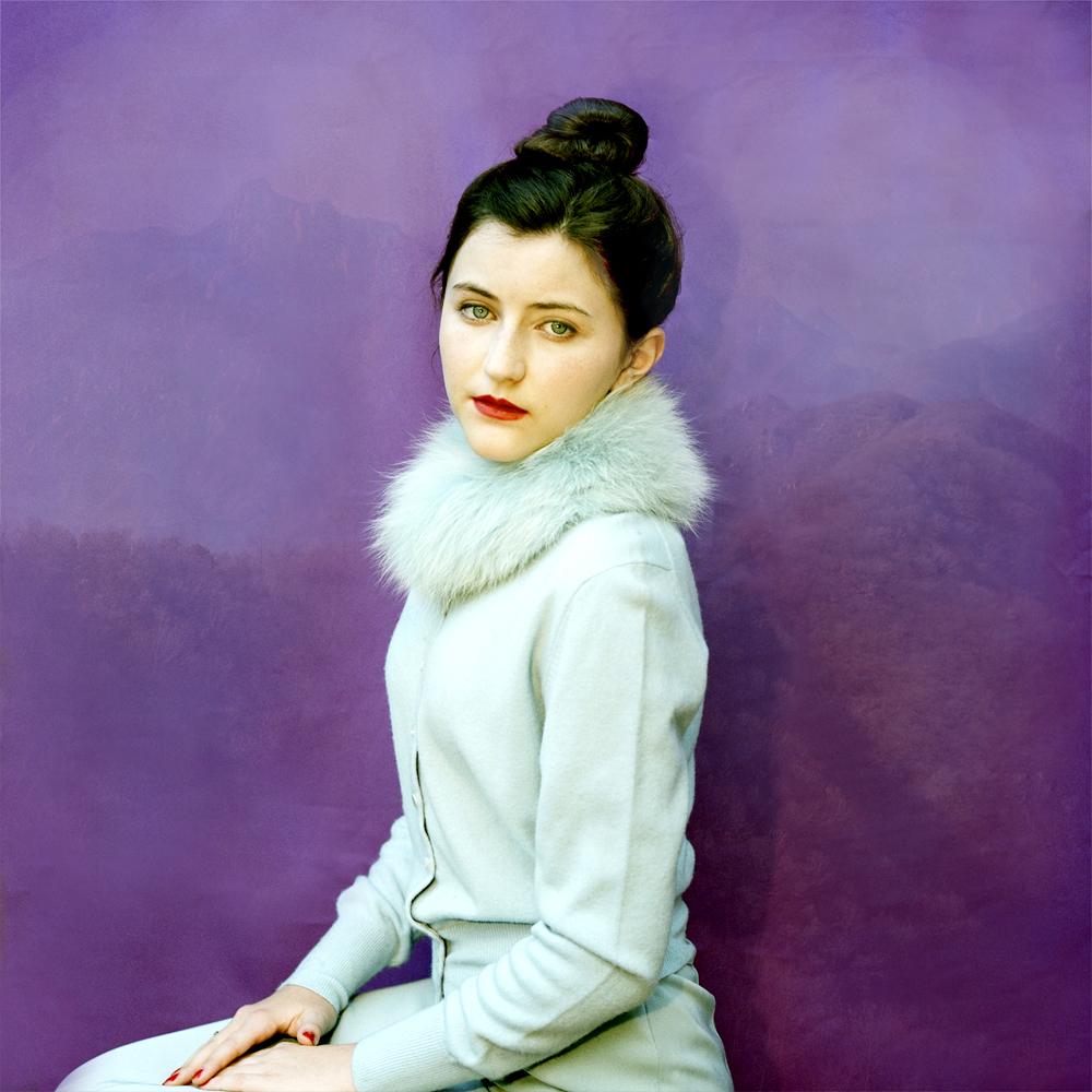 Jacklyn in Blue Fur