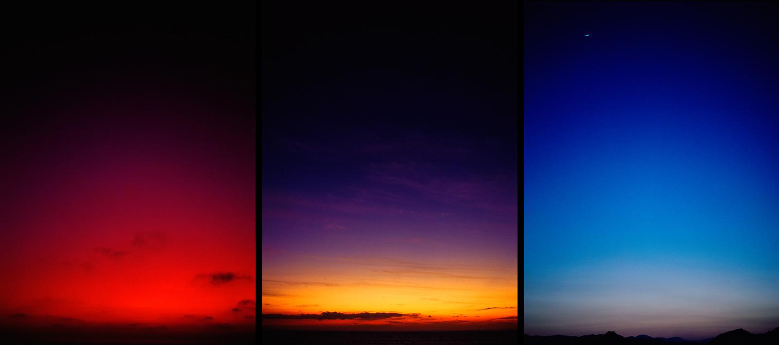 Sky Triptych © Glen Wexler
