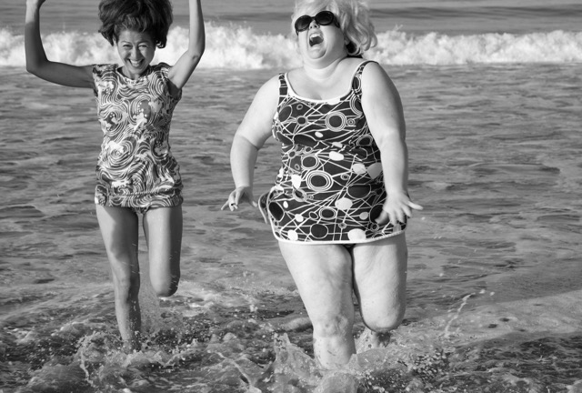 © Marjorie Salvaterra Sheila Rides the Waves 2