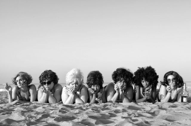 © Marjorie Salvaterra Sheila's Beach Party