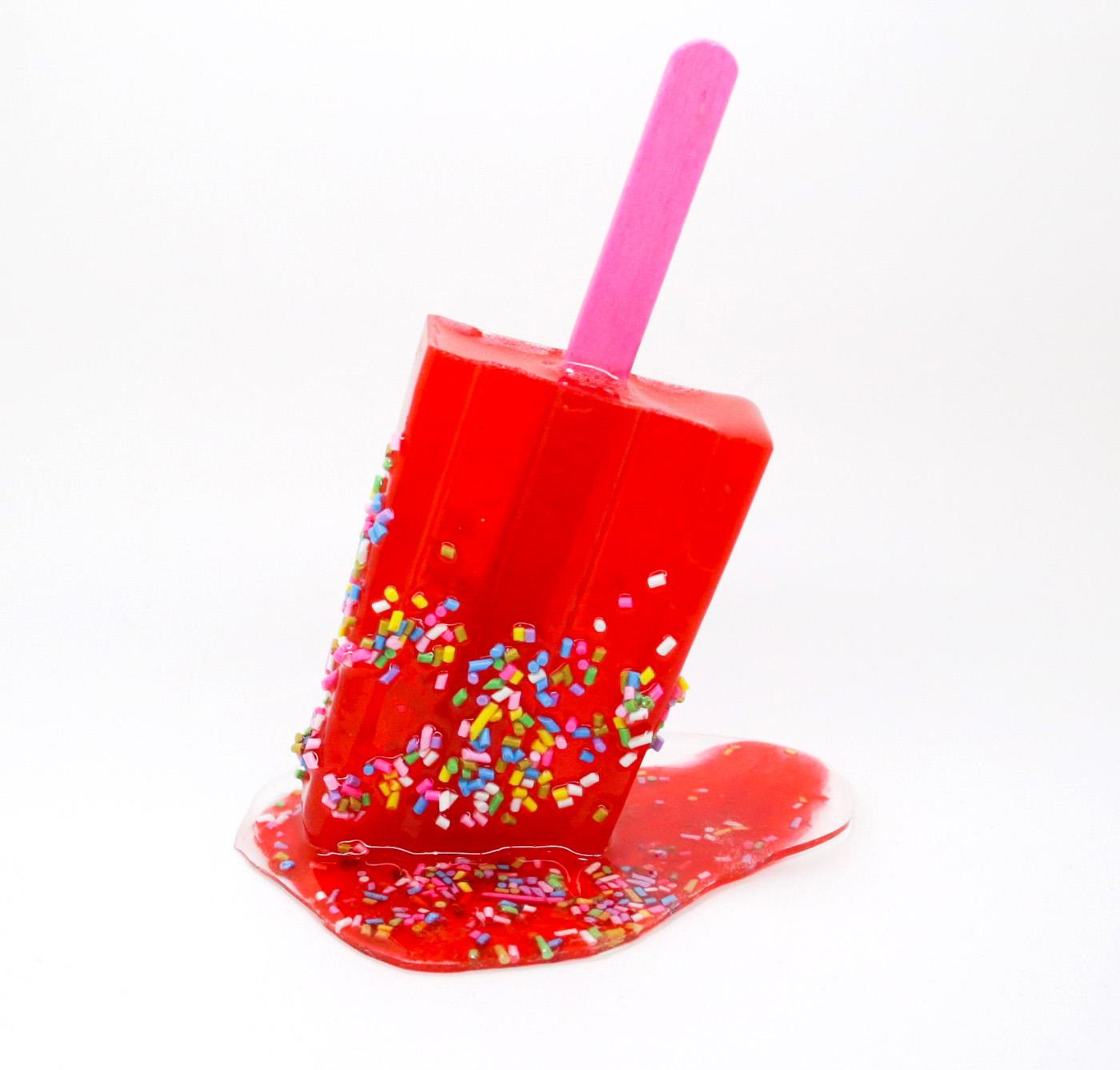 Red Sprinkle Popsicle © Betsy Enzensberger