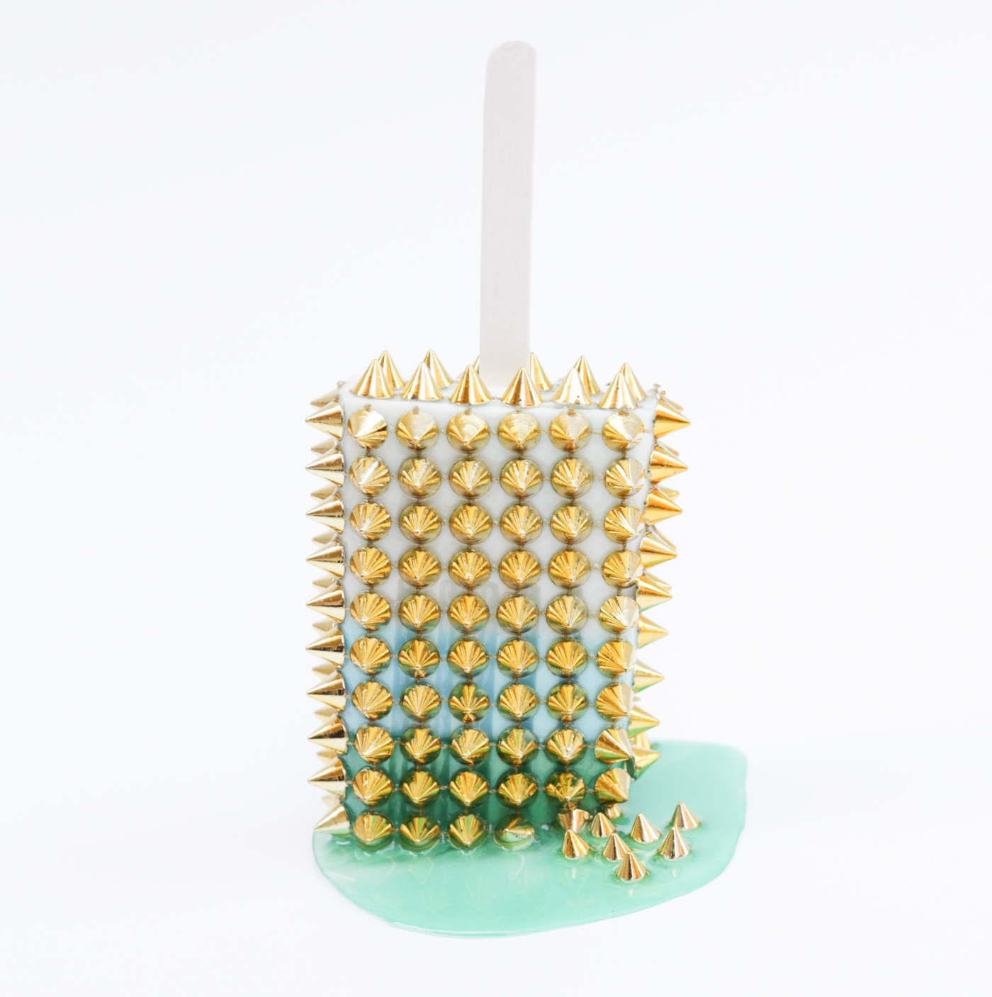 Winter Popsicle with Gold Spikes © Betsy Enzensberger