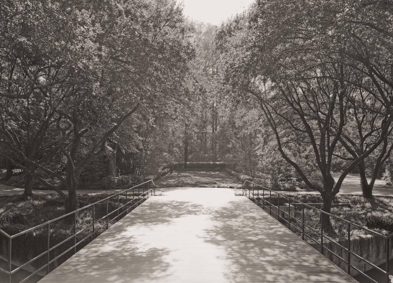 Howard Barnstone's bridge From The Maher Estate © E.F. Kitchen