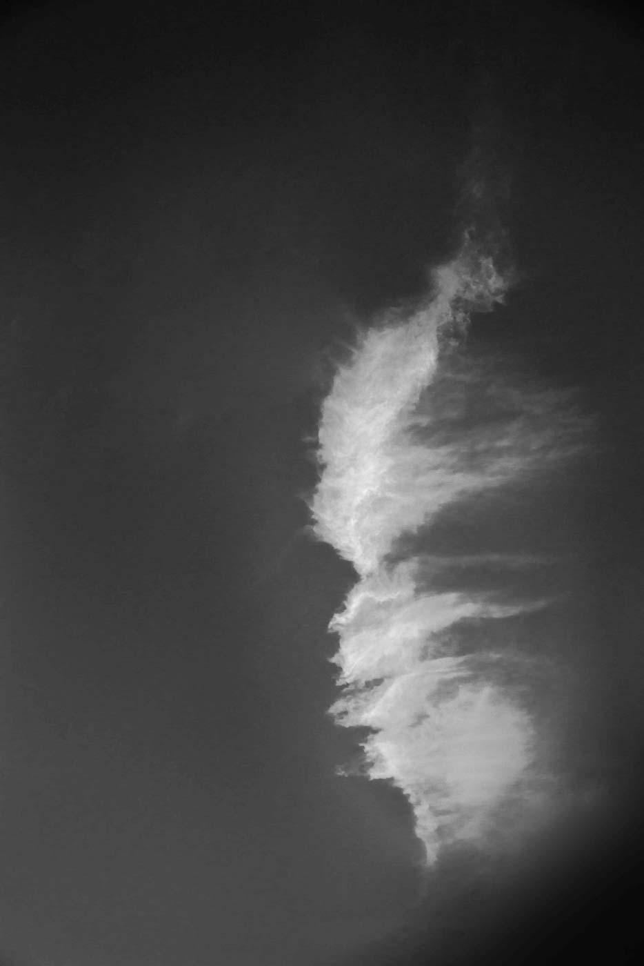 Cloud Above Arcadia, California 2016 © Robert Welkie