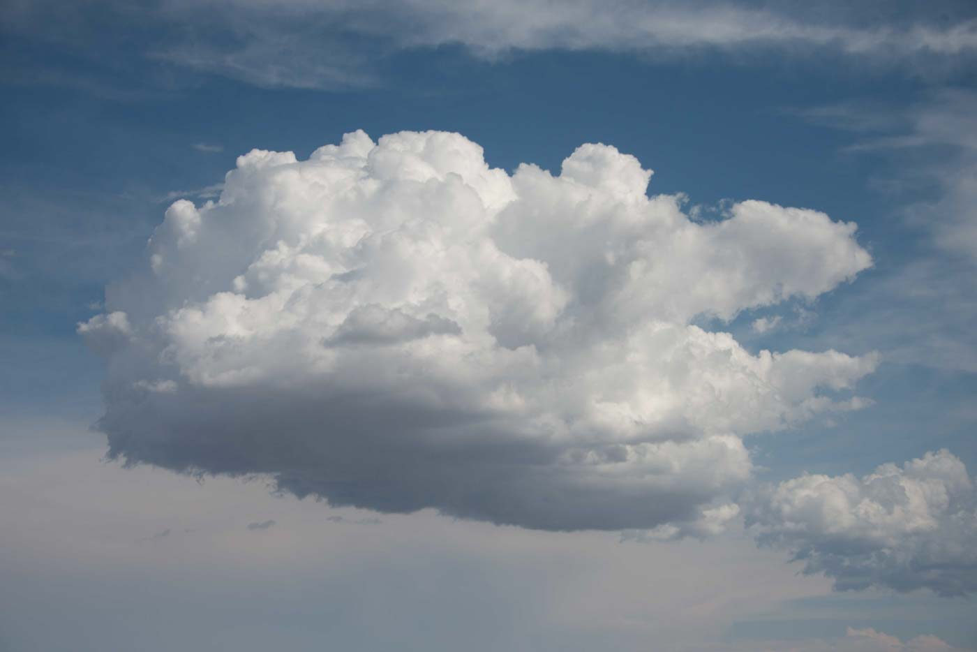Cloud Above Smithfield, Utah 2017 © Robert Welkie