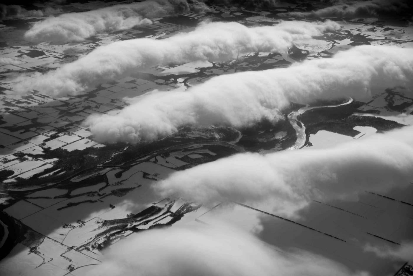Clouds above Minnesota 2016 © Robert Welkie