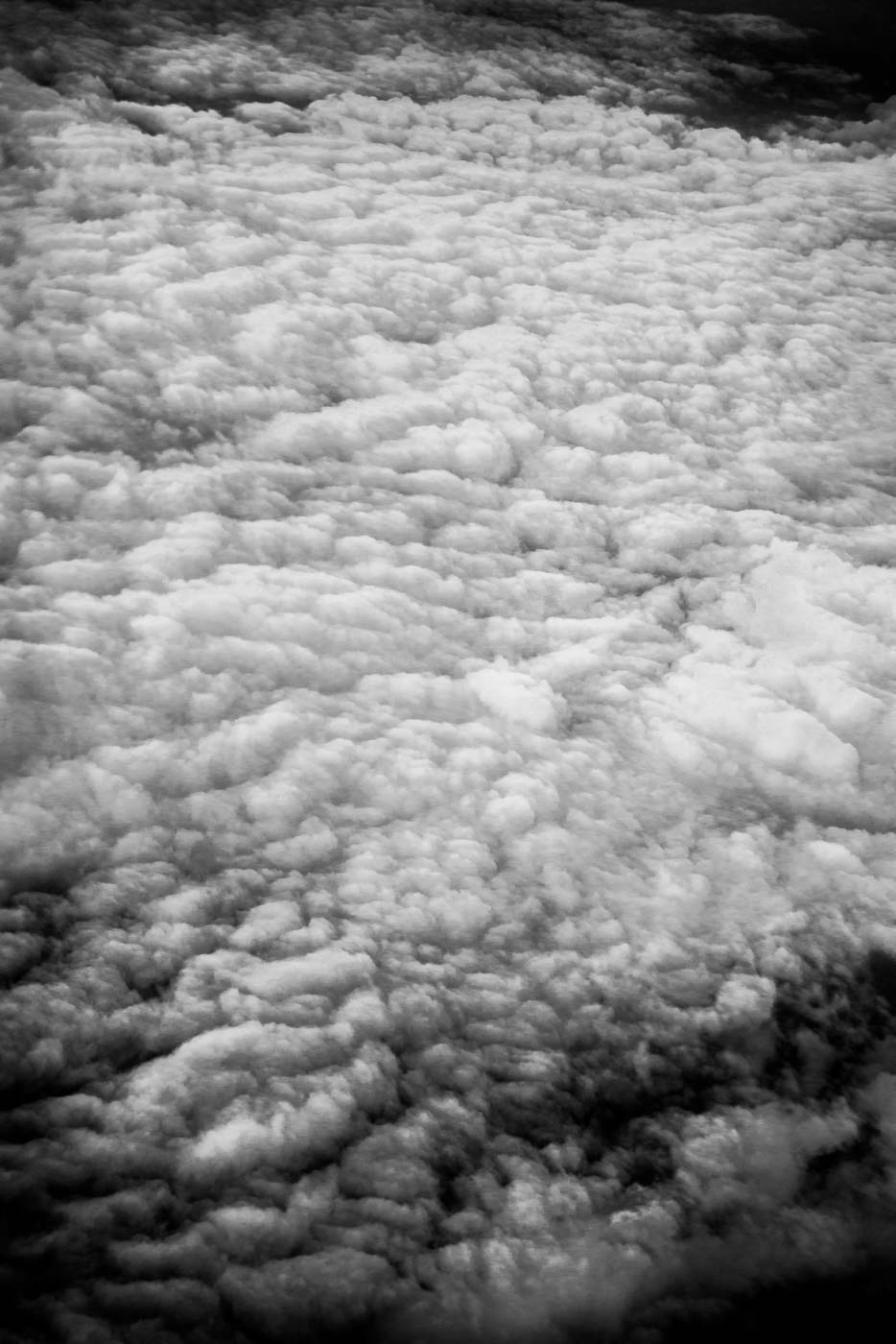Cloud field from Delta Airlines 2016 © Robert Welkie