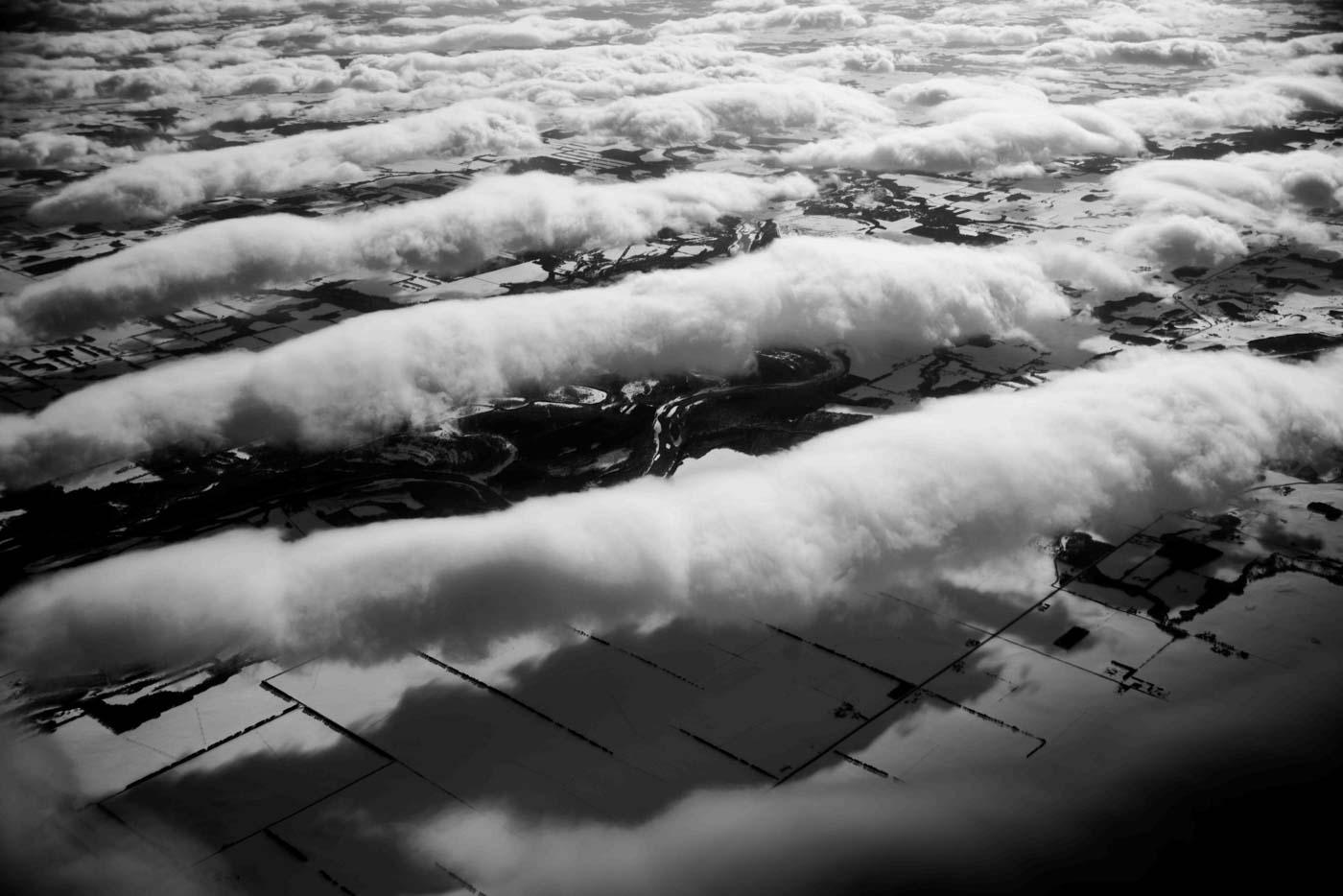 Clouds Above Farmland, Minnesota 2016 © Robert Welkie