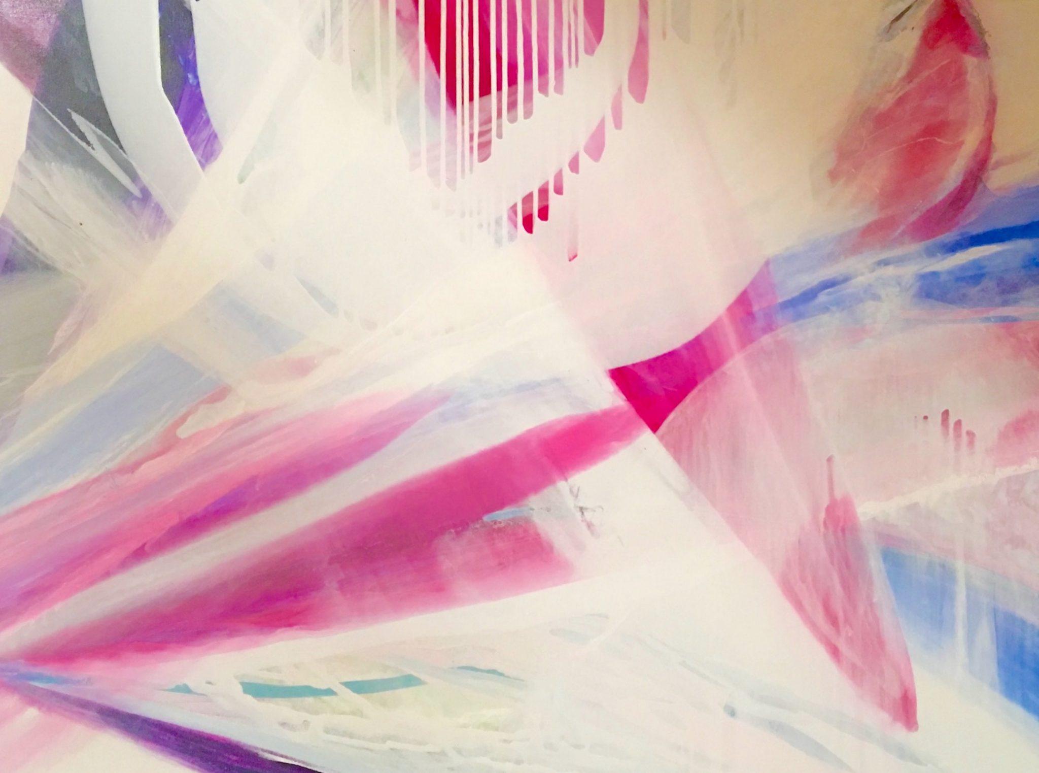 String Theory 36×48 Acrylic © Linda Stelling