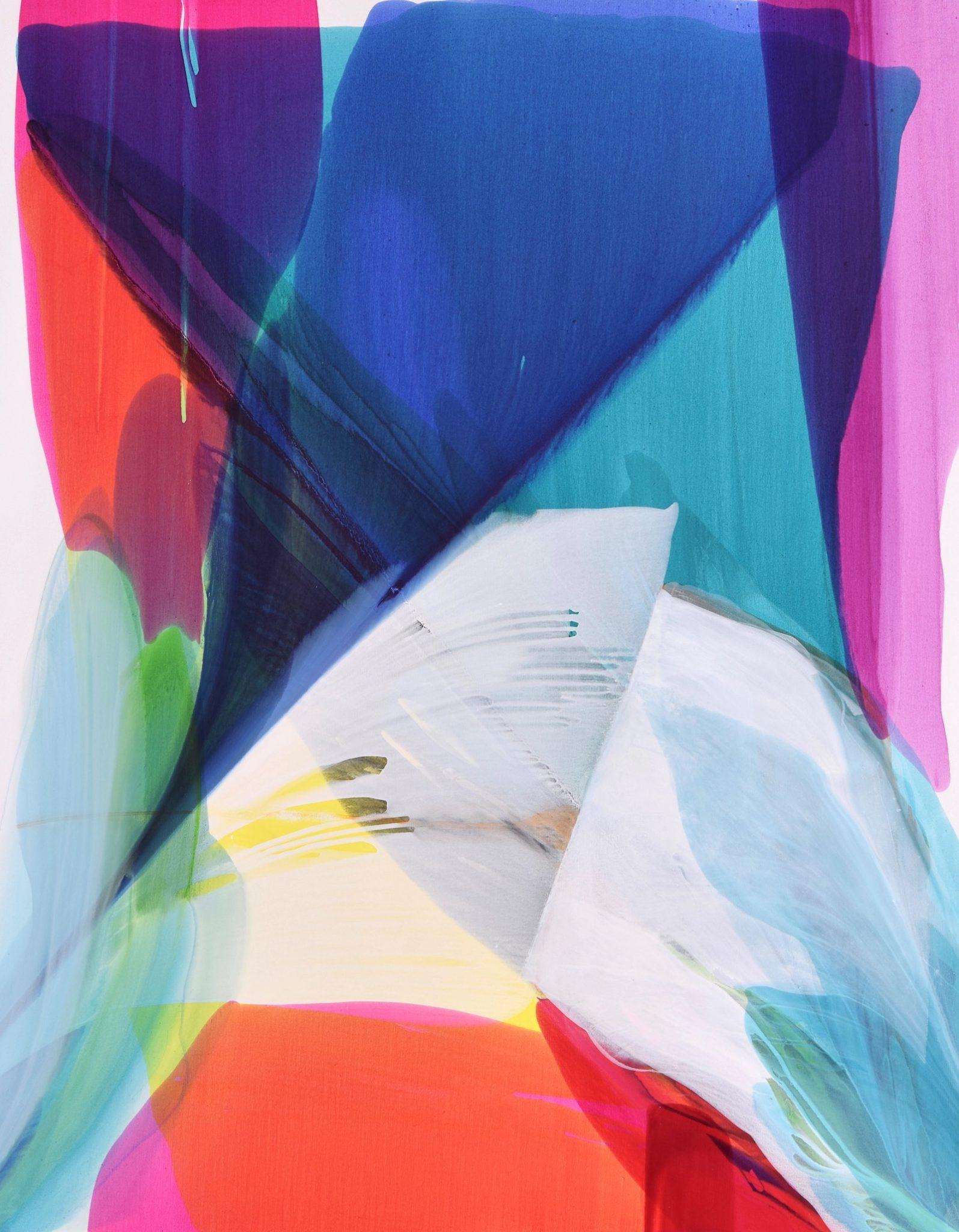 Cosmic Dream I 571/4×45 acrylic © Linda Stelling