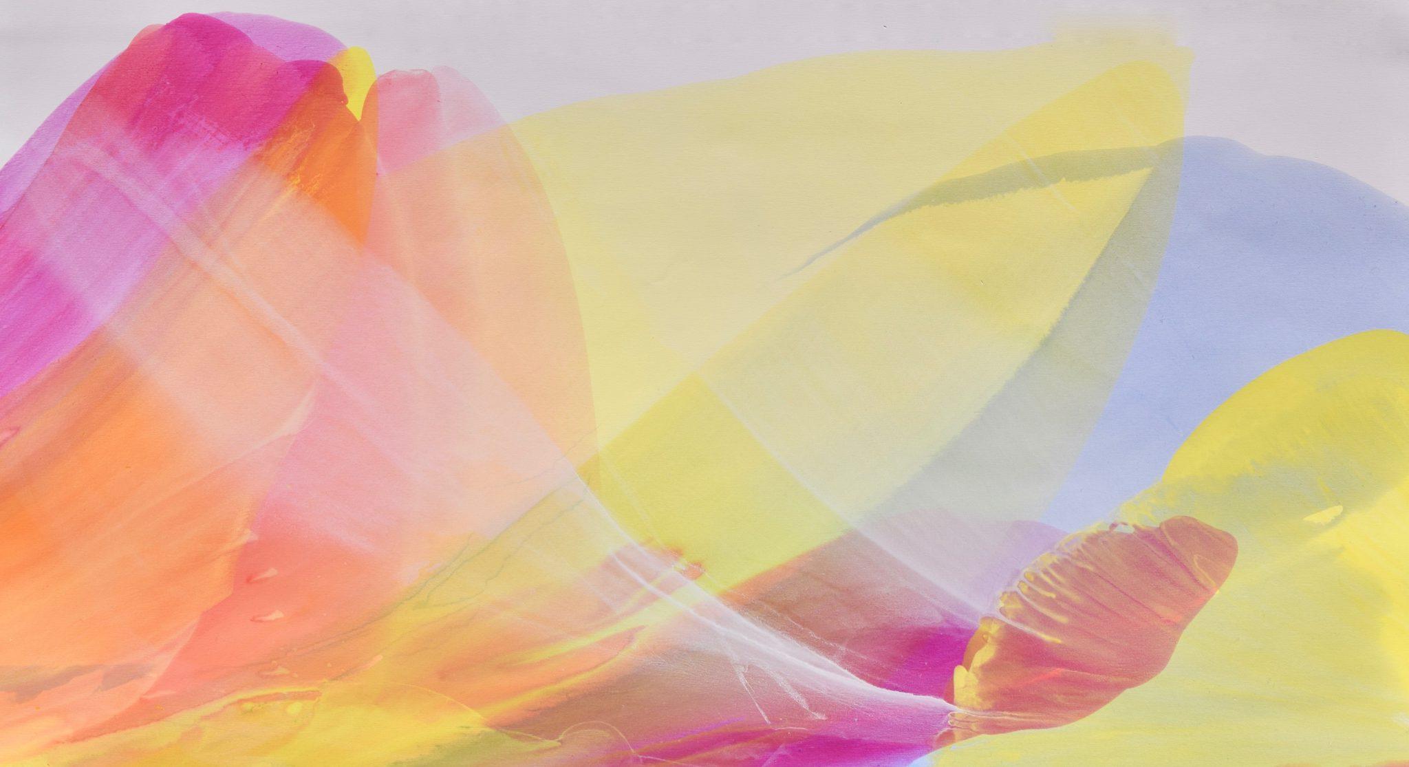 Whisper 30×561/2 acrylic © Linda Stelling