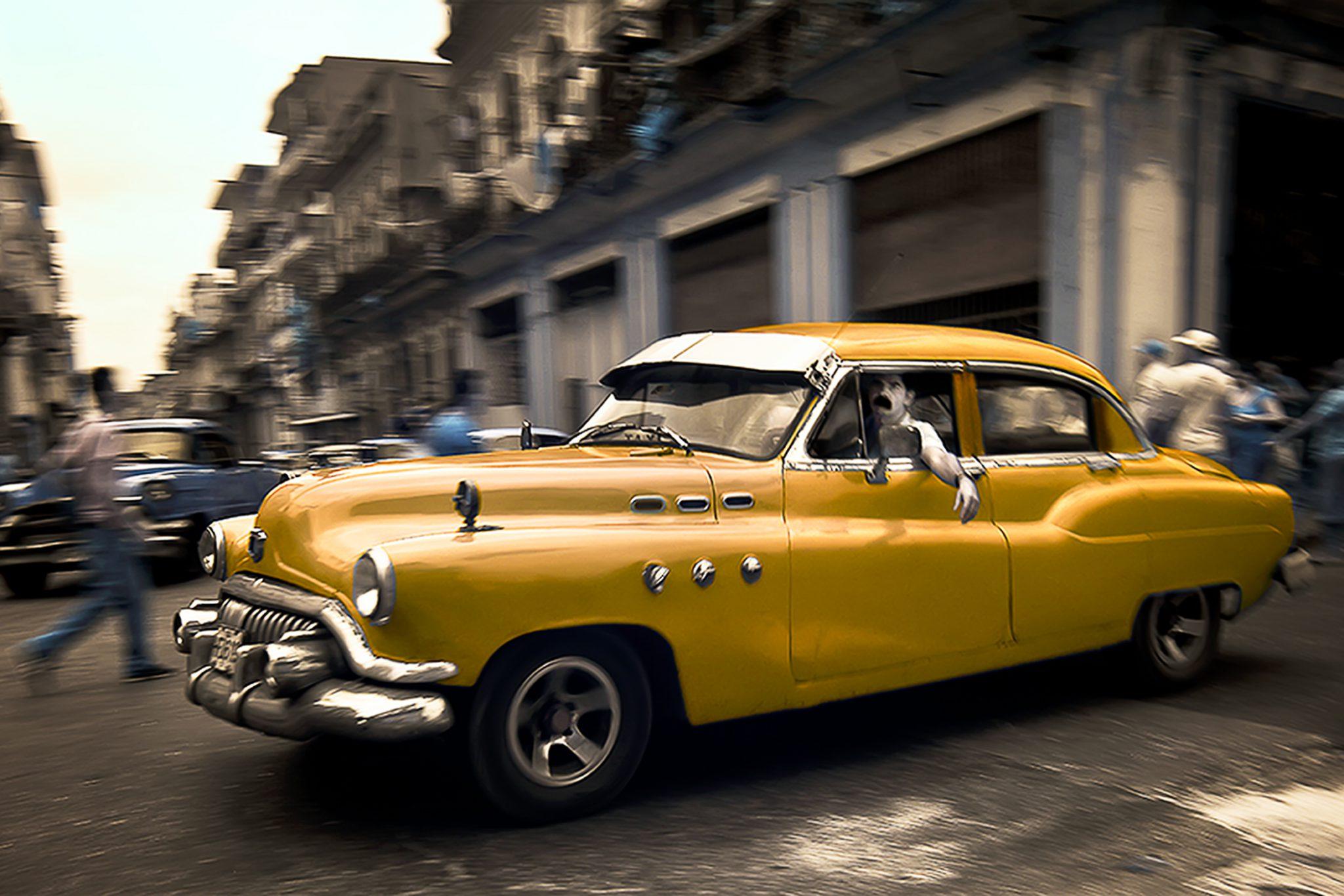 Cuban Turn Signal '15 © EK Waller