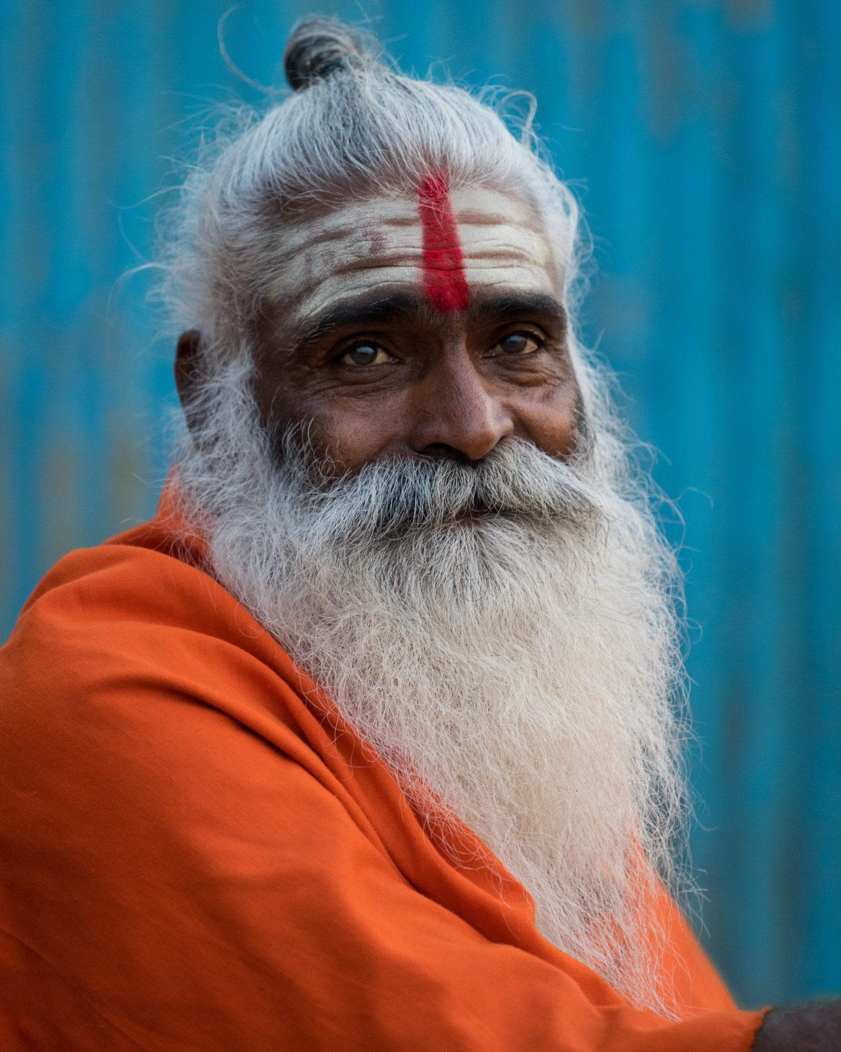 Sadhu at Sunrise, Varanasi, India