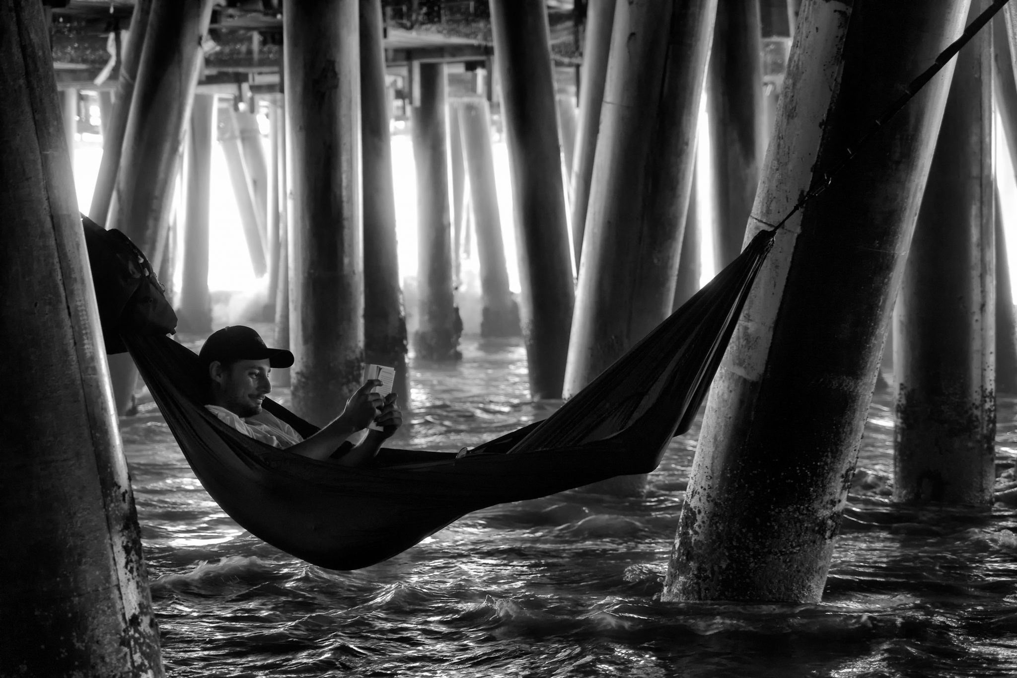 Under the Pier, Santa Monica, CA