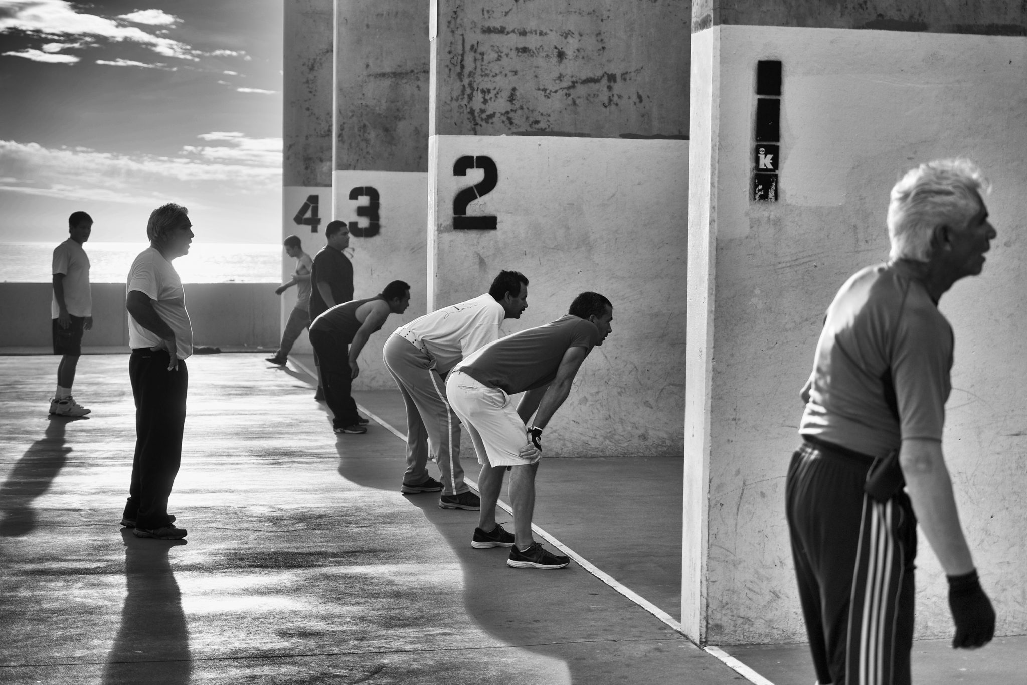 Handball Court  © Brandon Kusher