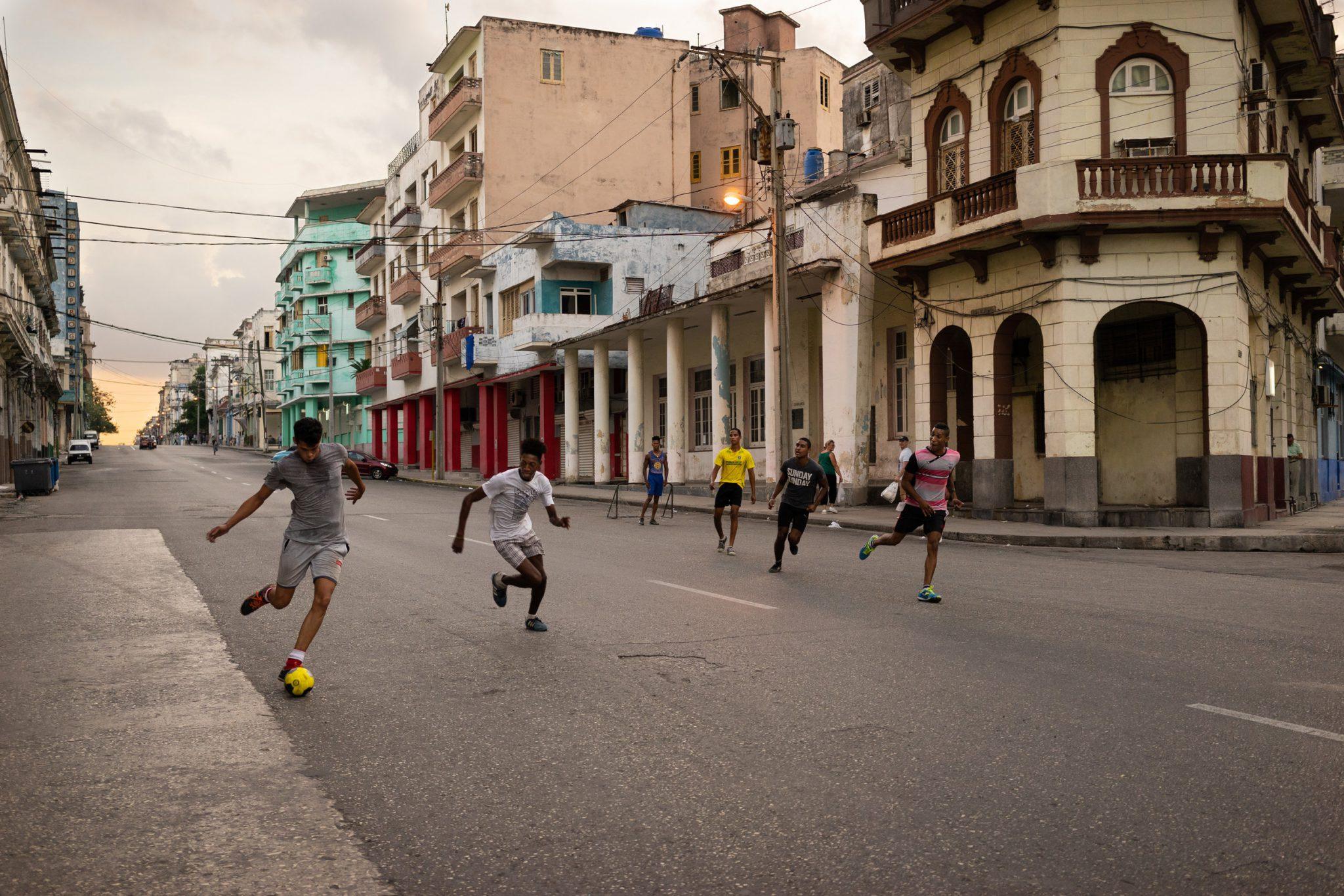 Street Soccer © Brandon Kusher