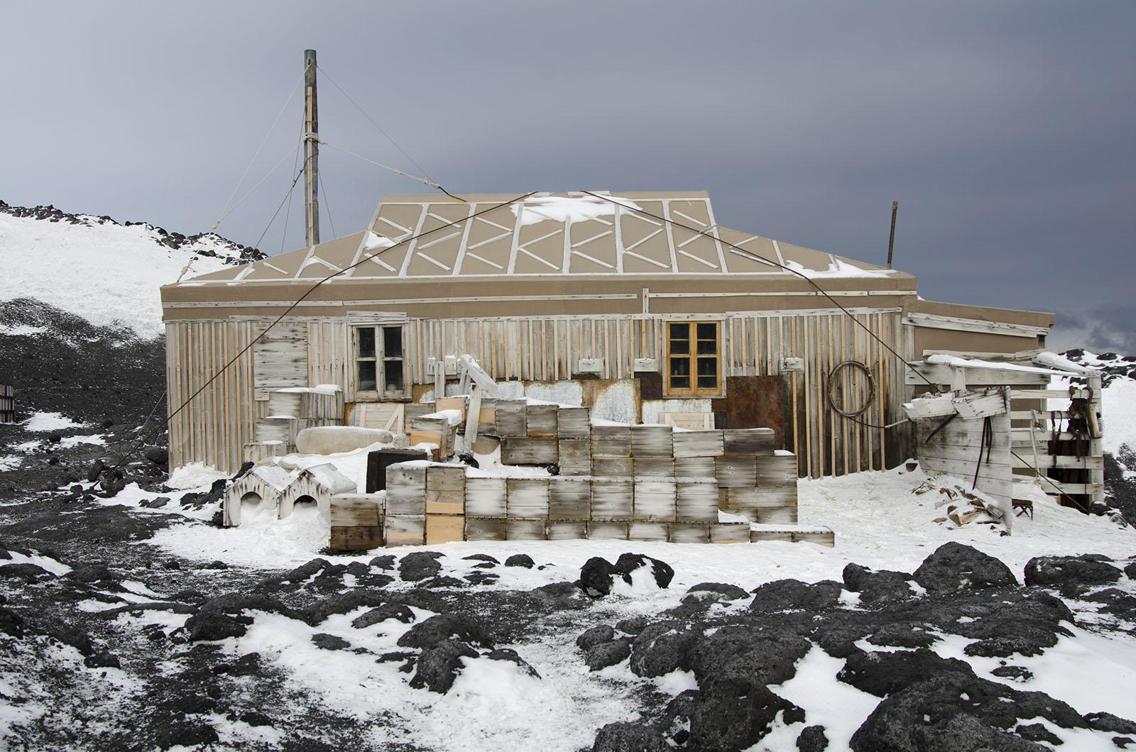 Shackleton's Hut 1 2013 16×24 © L'Heureux