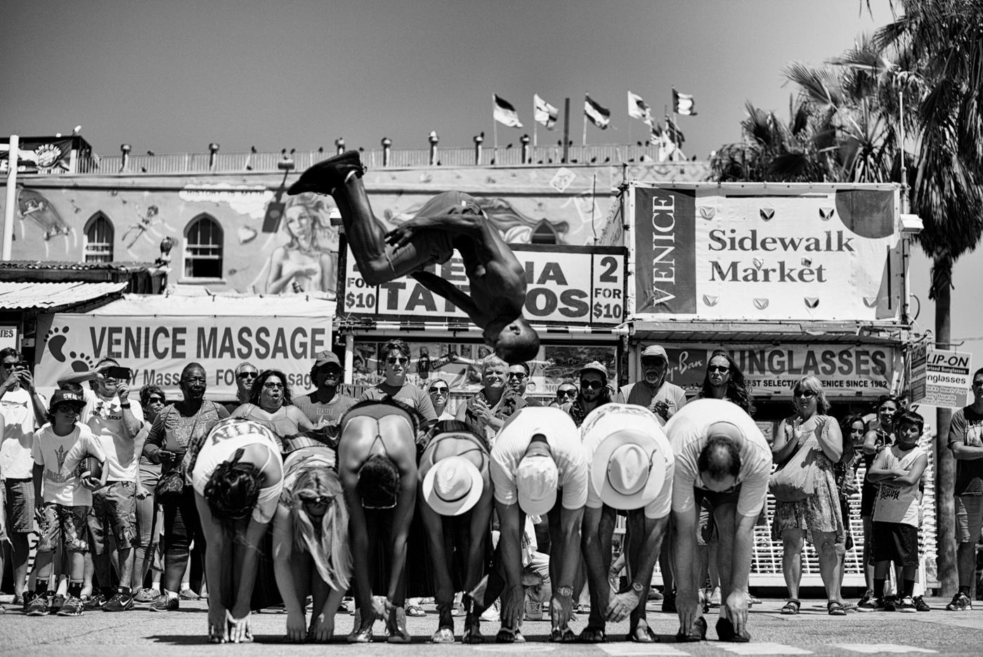 Flying Over the Boardwalk © Dotan Saguy