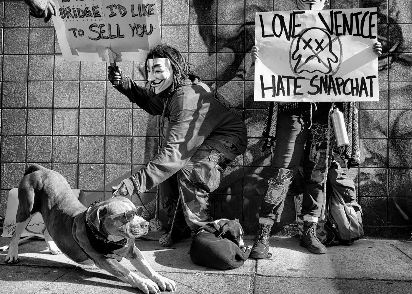 Love Venice, Hate Snapchat © Dotan Saguy